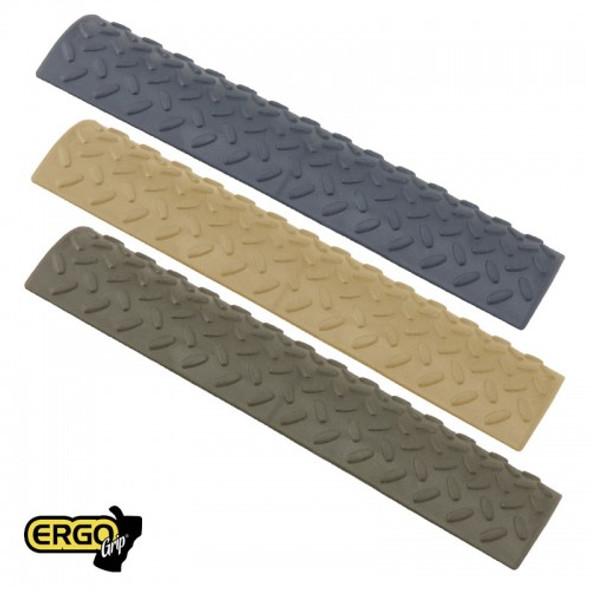 Ergo Diamond Plate Pattern 15 Slot Rail Covers