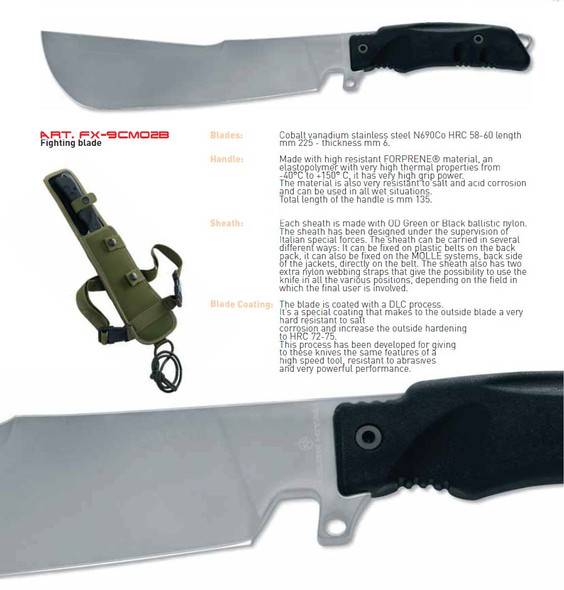 Fox Utility Golok Fighting Blade