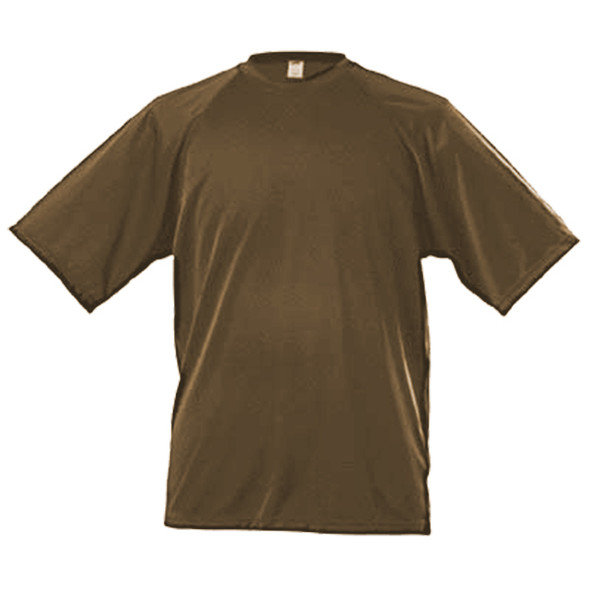 Golite C-Thru Army Brown Lite-Weight Short Sleeve Shirt