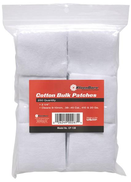 Kleenbore Cotton Bulk Patches