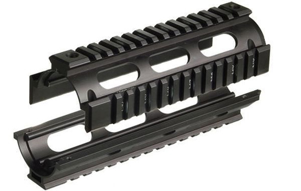 UTG MTU001 Model 4/15 Car Length Quad Rails