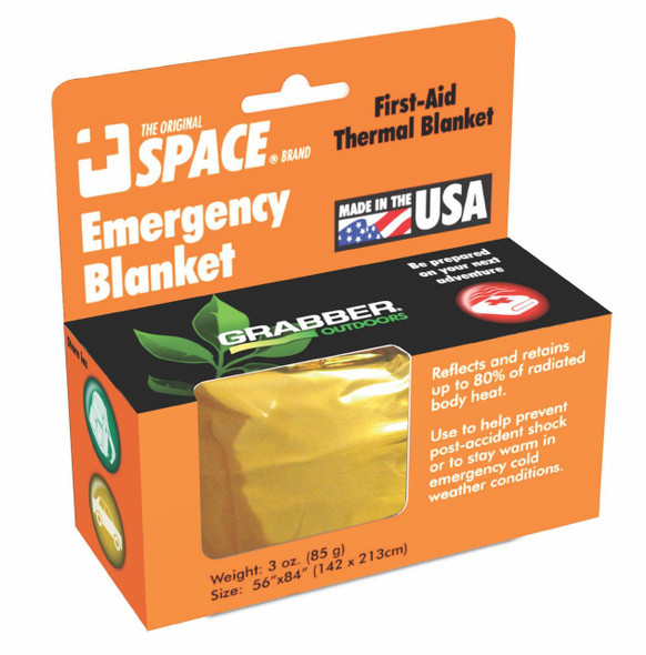 Grabber Space Emergency Blanket
