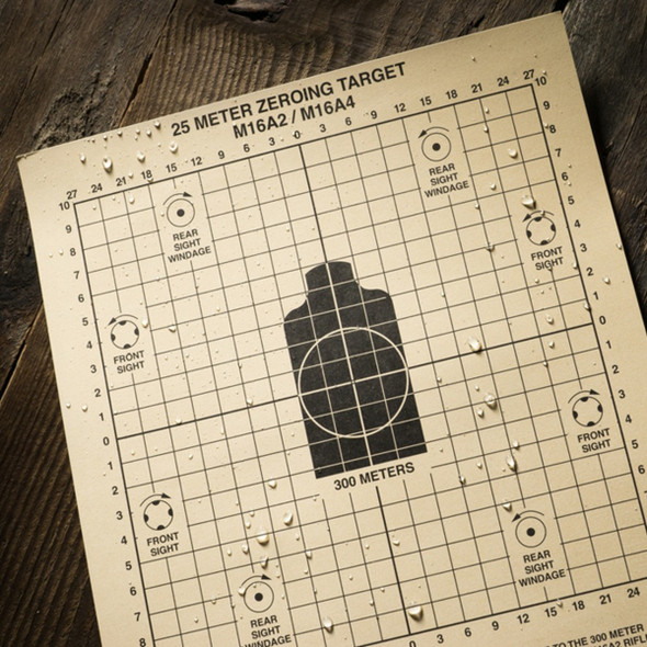 Rite In The Rain 25 Meter Tactical Target