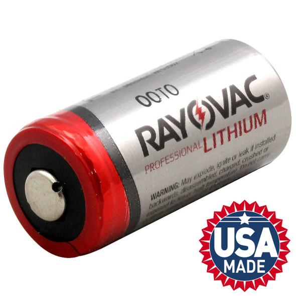 Rayovac RL123A 3-Volt Lithium Batteries 6/Pack