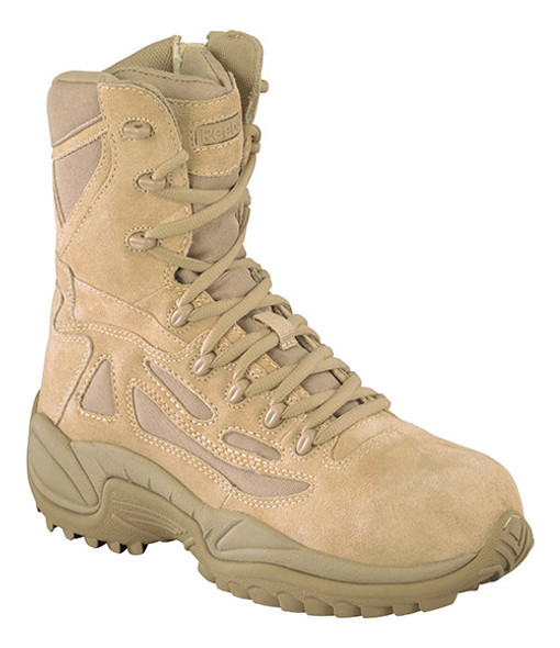 Reebok RB8894 Side Zip Desert Tactical Safety Toe Boots