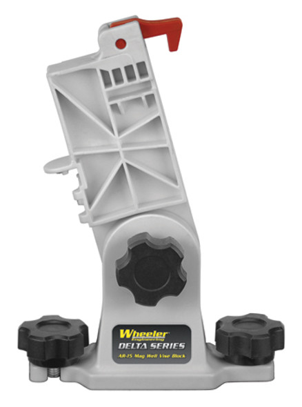 Wheeler AR-15 Mag Well Vise Block