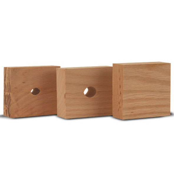 Wheeler Barrel Vise Replacement Wood Bushings 3-pack