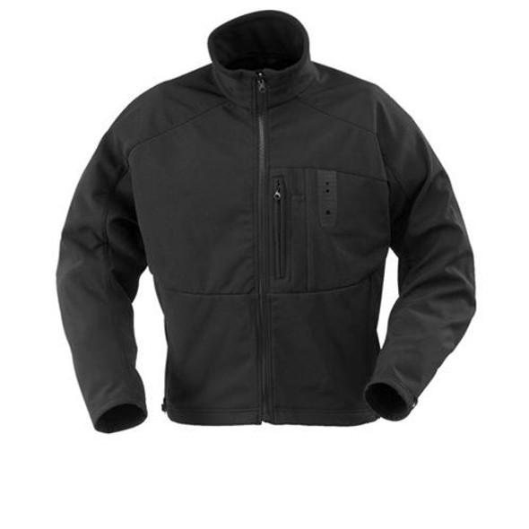Propper F547407001 Defender Echo Softshell Jacket, Black, Size X-Large, Regular