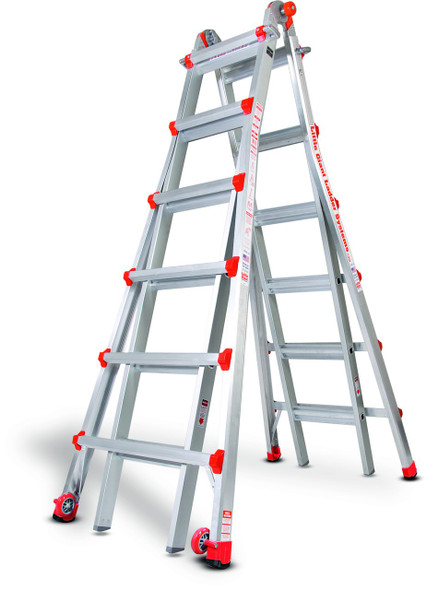 Little Giant M26 Aircraft Support Ladder - 26 Foot / 300lbs Capacity