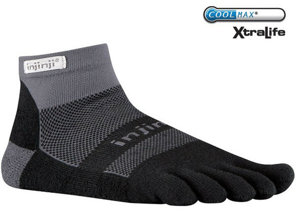 Injinji Socks Gray/Black