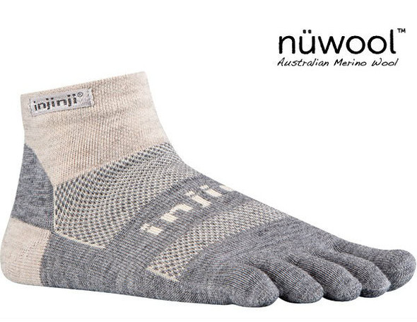 Injinji Socks Charcoal