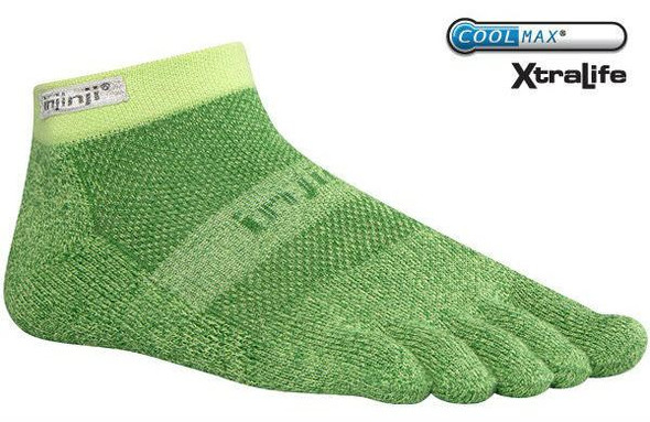 Injinji TRAIL 2.0 Midweight Micro Socks Meadow