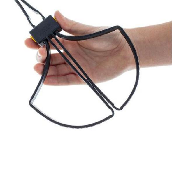 ASP Tri-Fold Disposable Restraints 6pk Black