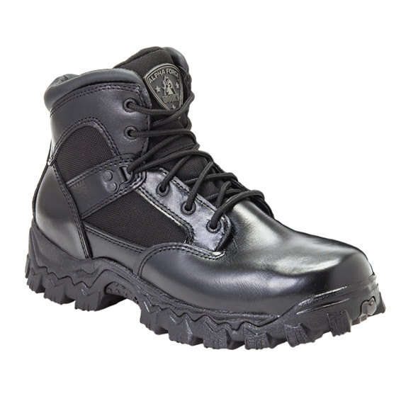 Rocky 6167 Alpha Force Composite Toe Duty Boots BLACK