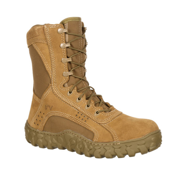Rocky 104 S2v Steel Toe Boots COYOTE BROWN USA