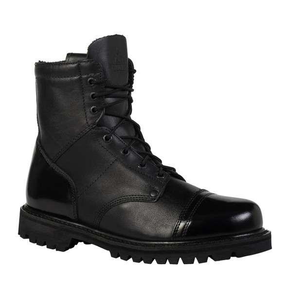 Rocky 2091 Jump Boot 7 in. Boots w/Side Zipper BLACK