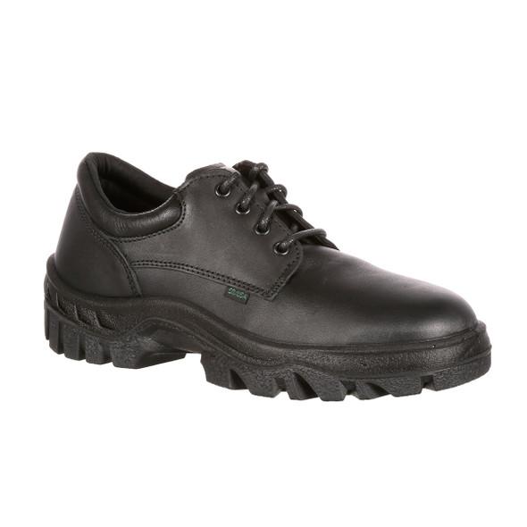 Rocky 5000 Postal TMC Plain Toe Oxford Shoes BLACK USA