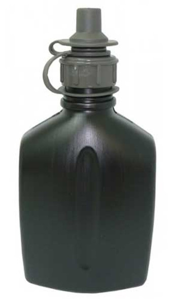 Scott NBC Military Grade Water Bottle 1L w/ Cap for Gas Mask