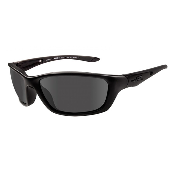 Wiley X Brick Smoke Grey Lens - Matte Black