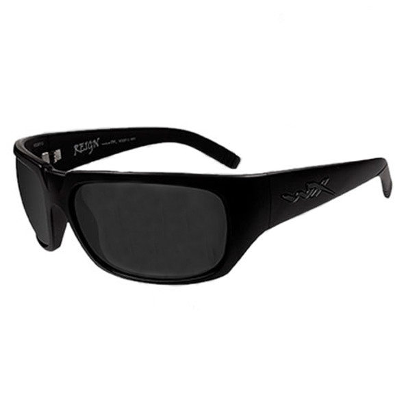 Wiley X Reign SSRE102 Smoke Lens - Matte Black  Frame