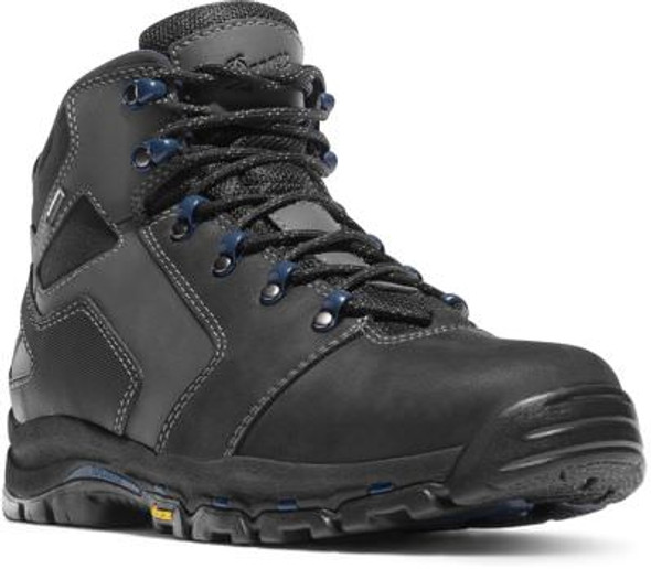 "Danner 13862 Men's Vicious 4.5"" Black/Blue Men's Boots"