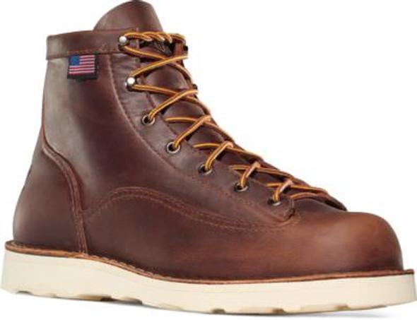 "Danner 15552 Bull Run 6"" Brown Boots"