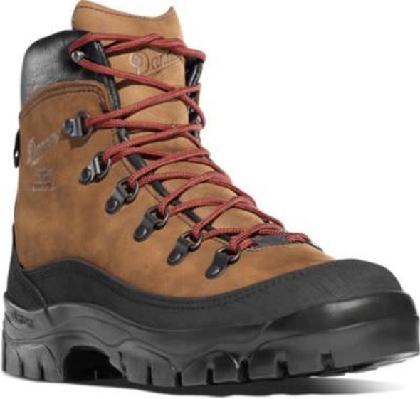 """Danner 37414 Women's Crater Rim 6"""" Brown Boots"""