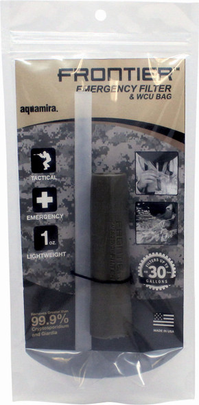 Aquamira Tactical Frontier Water Filter