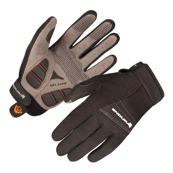 Endura Full Monty Summer Gloves - Black