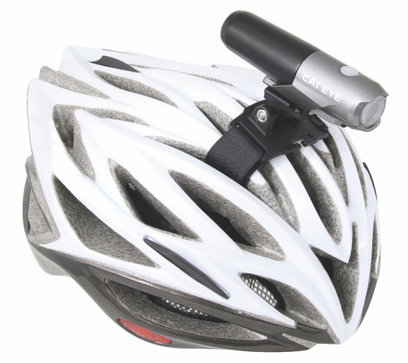 CatEye Volt 300 HL-EL460RC USB Rechargeable Headlight w/Helmet Mount