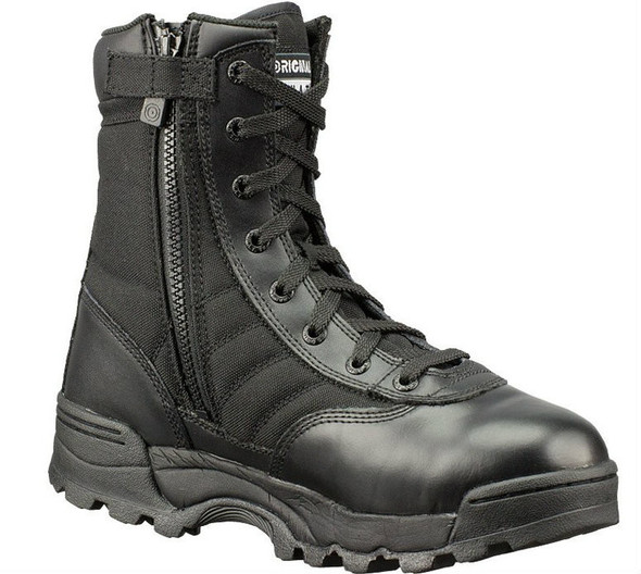 "Original SWAT 115201 Classic 9"" Side-Zip Men's Black Boots"