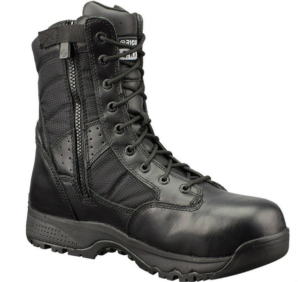 "Original SWAT 129101 Metro 9"" WP SZ Safety Men's Black Boots"