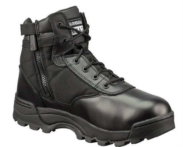"Original SWAT 116401 Classic 6"" Side-Zip Men's Black Boots"