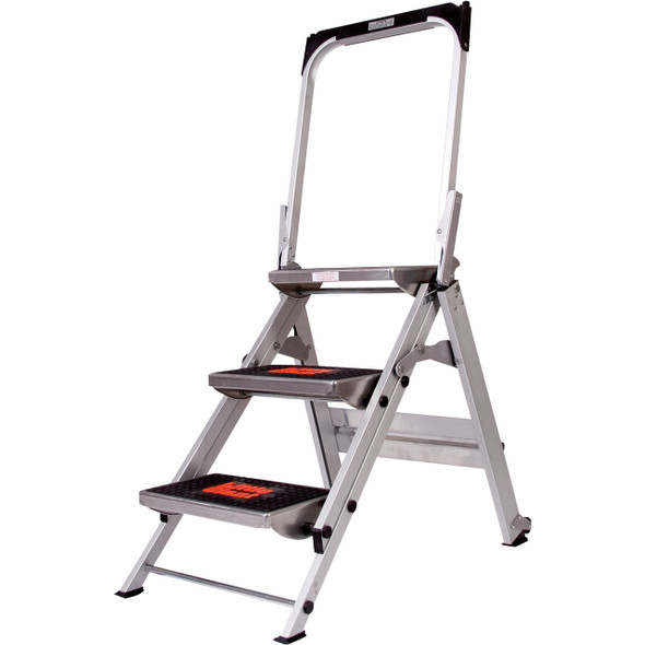 Little Giant Safety Step Stepladder 3 Step