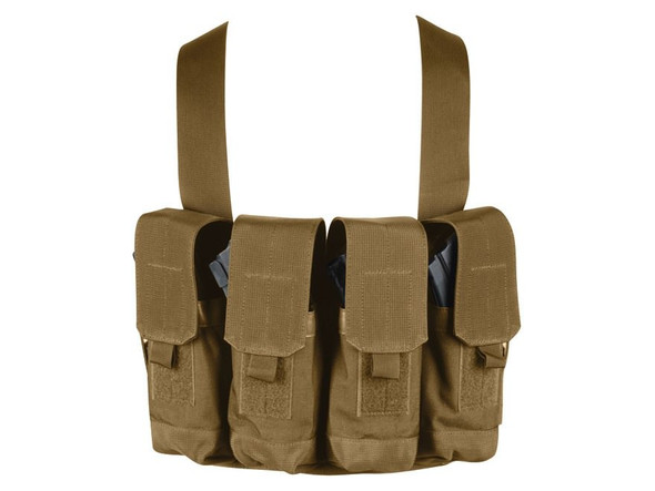 Blackhawk AK47 Chest Mag Pouches, Coyote Tan