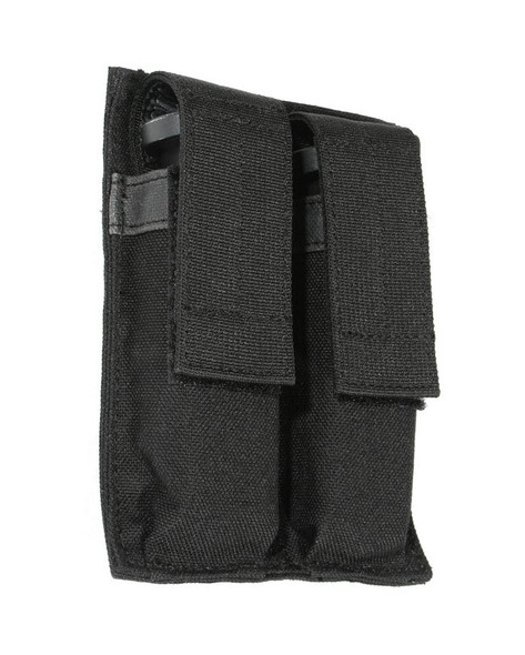 Blackhawk Double Pistol Mag Pouch Hook & Loop, Black