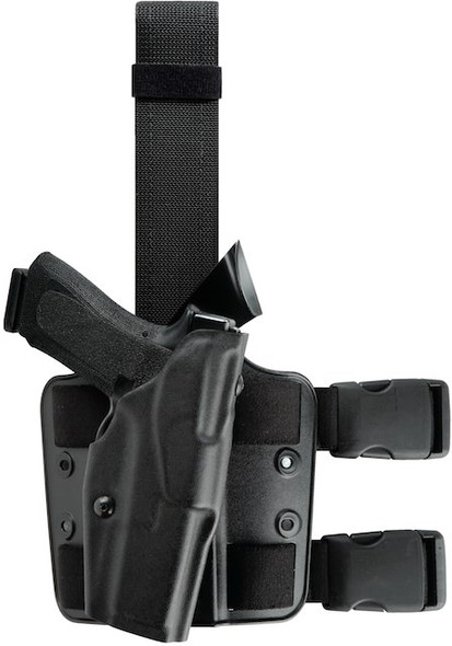 Safariland 6354 ALS Tactical Thigh Holster for Sig Sauer P228/P229 - Right Hand - Black - STX