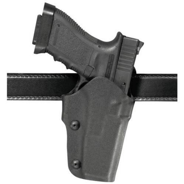 Safariland 0706 Self-Securing Belt Slide Holster for Glock 17/22 - Left Hand - Black - STX Tac
