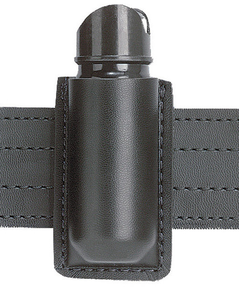 Safariland 37 Mid-Ride Open Top OC Spray Holder - Black - Basketweave