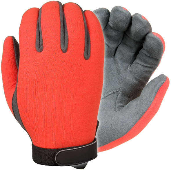 Damascus DNSOT UltraVIZ Unlined High Visibility Neoprene Gloves, Orange