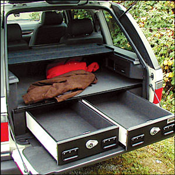 Truck Vault Interior Drawer Carpeting Standard