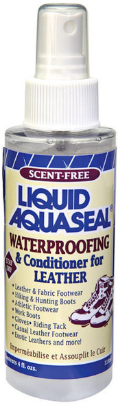 Aquaseal Liquid Leather Waterproofing and Conditioner 4 oz. Pump