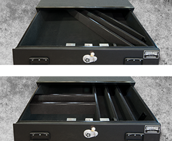 Truck Vault Extra Dividers Holders Set Of Two