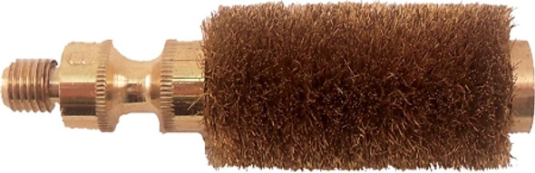 12 Ga. Chamber Brush PG12: Excellent for removing plastic from Shotgun chambers! Premium Chamber brush with a full fill of bristles.   Use our brass chamber tool Item# CH Tool with this brush for an excellent chamber/choke tool set. The Payne Galloway style brush is made to rotate 360 degrees in the chamber for fast & easy chamber cleaning.   For use in Over and Under, Side by Side,and Single Barrel Guns.