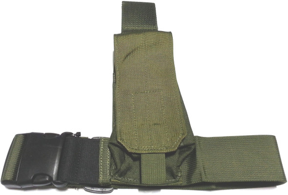 CQB Solutions #104 OD AR-15/M-16 Magazine Tactical Thigh Rig, OD Green