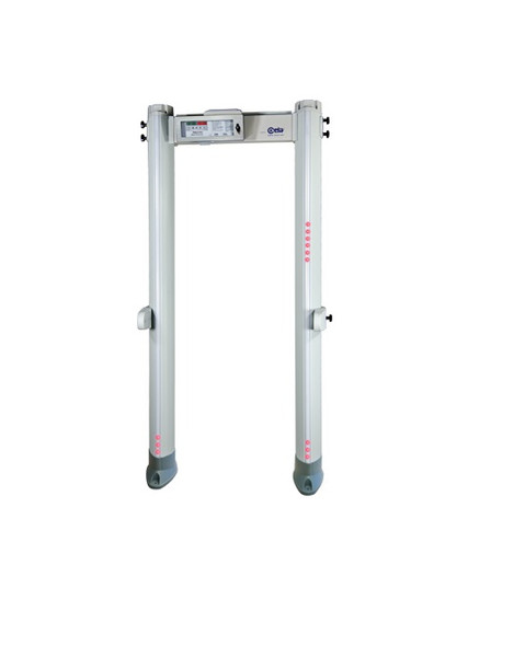 Ceia PMD2 Plus/EZHD Elliptic Multi-Zone & Heavy Duty Walk-Through Metal Detector