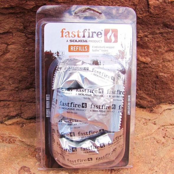 SOLKOA Fast-Fire Fast Fire Tinder Refill 4/pk