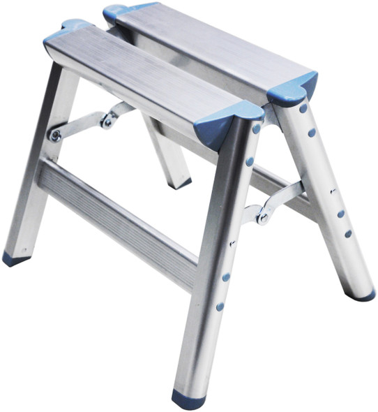 "Telesteps 100SS 12"" Aluminum Folding Step Stool"