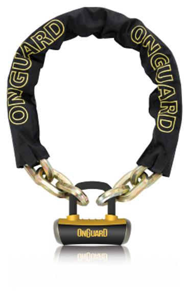 OnGuard 8016 Beast Chain Lock W/ X4 Padlock