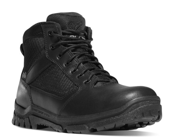 "Danner 23820 Lookout 5.5"" Black Boots"
